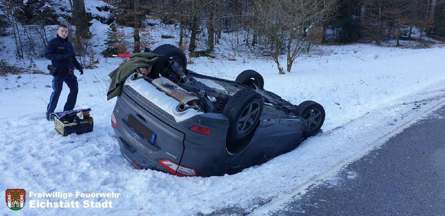 Verkehrsunfall mit PKW